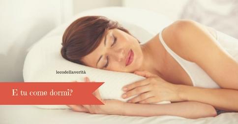 Dormire bene? Dipende da quale lato scegli