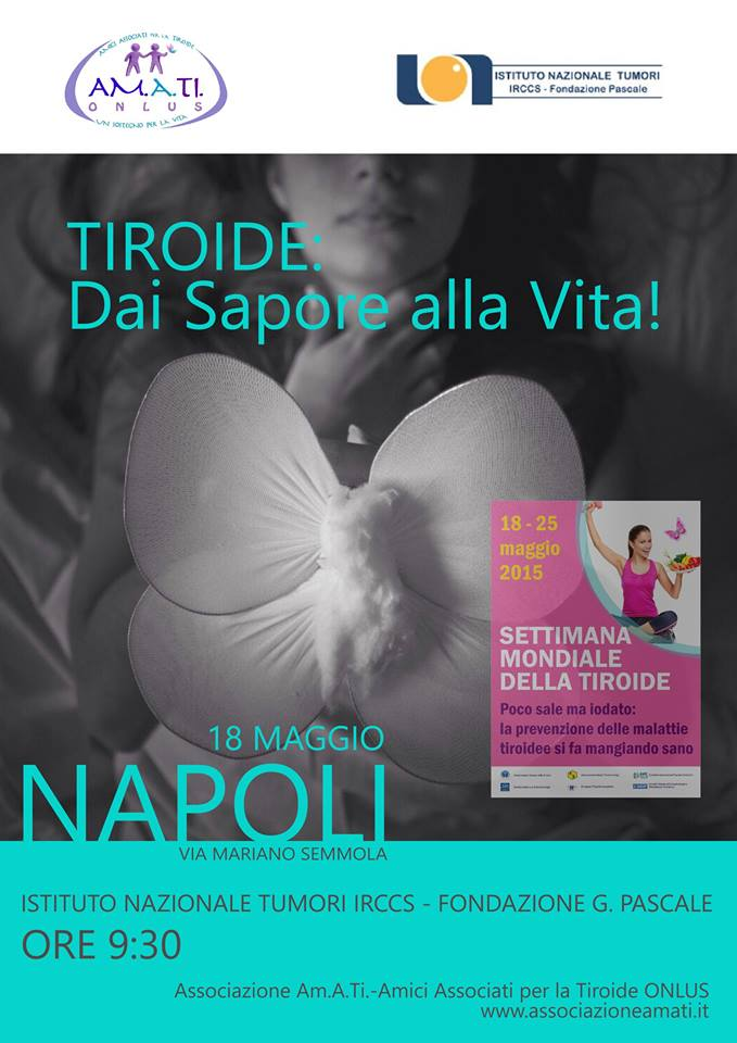 Visite gratis al Pascale per la Settimana Mondiale della Tiroide