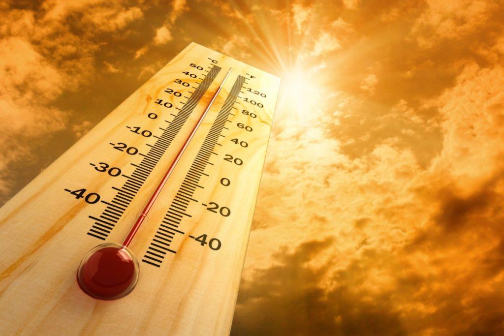 caldo torrido in arrivo