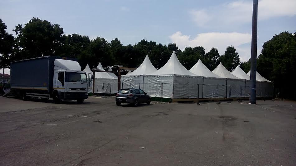 Torino, capannoni abusivi nel Parco Ruffini