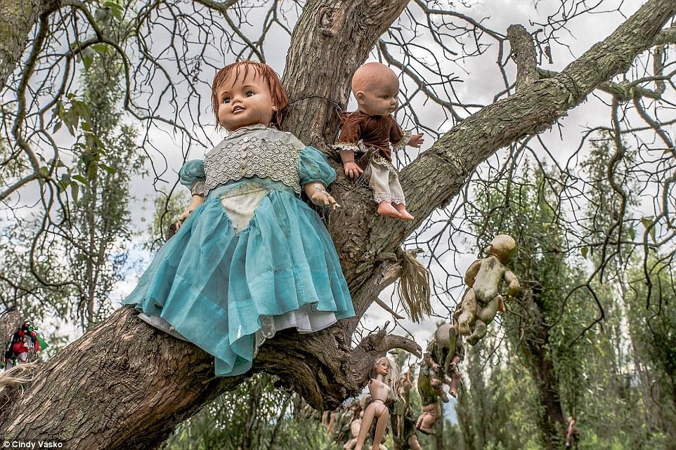isola delle bambole mozzate