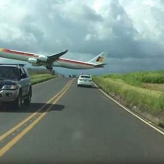 jet transatlantico strage evitata