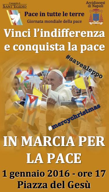 Napoli, Comunità di Sant'Egidio: marcia della pace