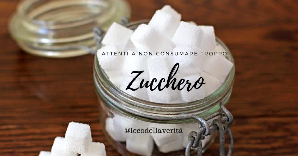 Stop allo zucchero fa male alla salute