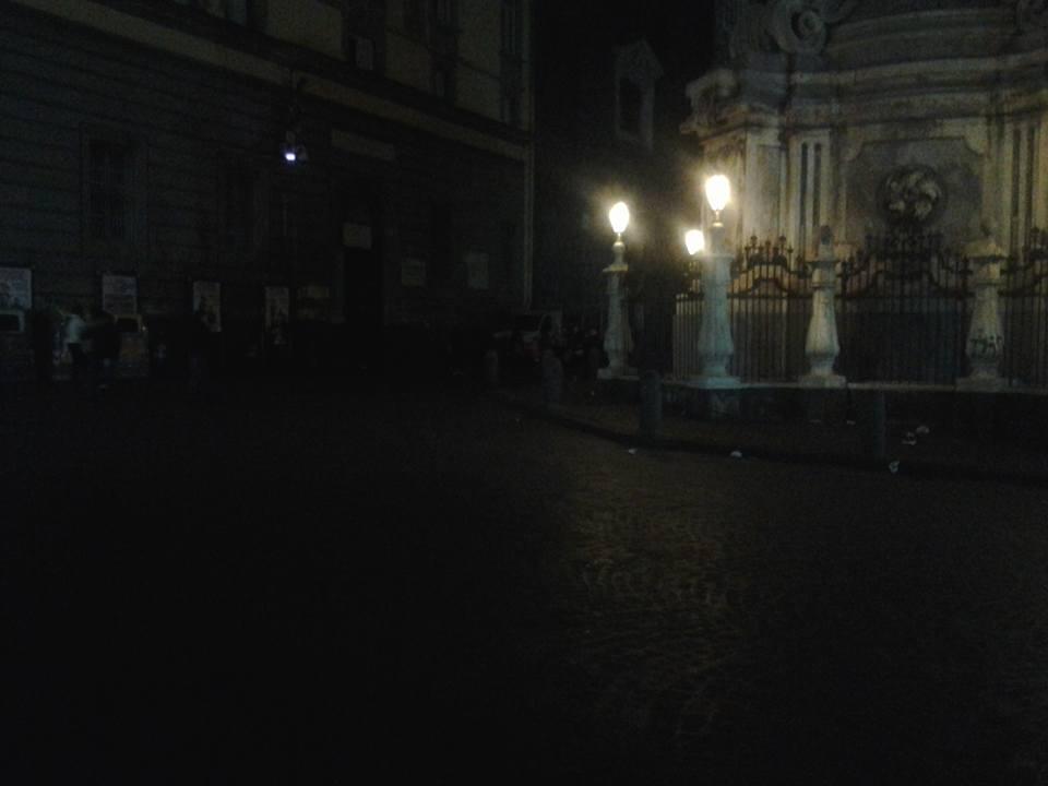 buio- piazza del gesù