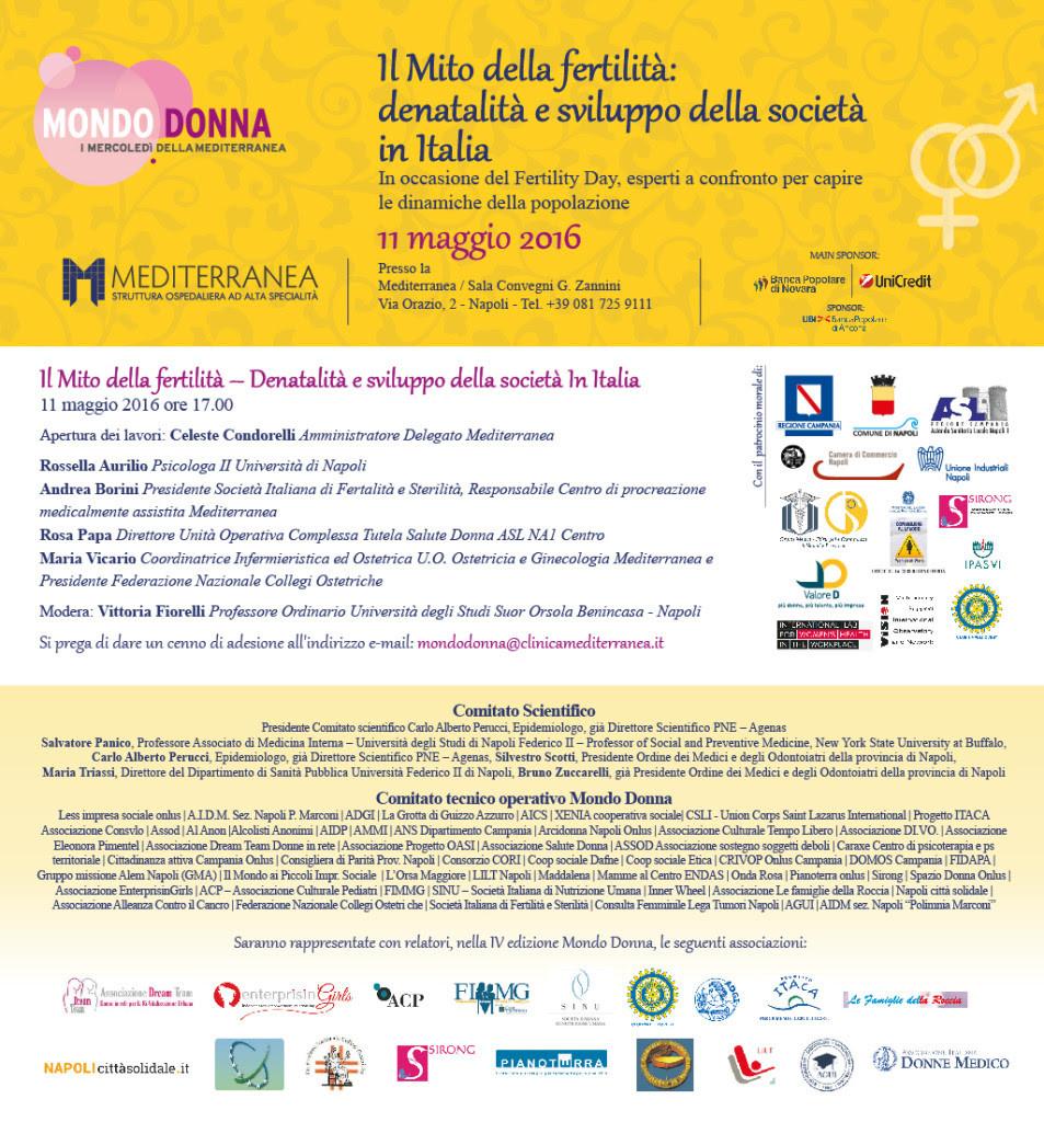 Napoli, il mito della fertilità per riscoprire il dono della vita