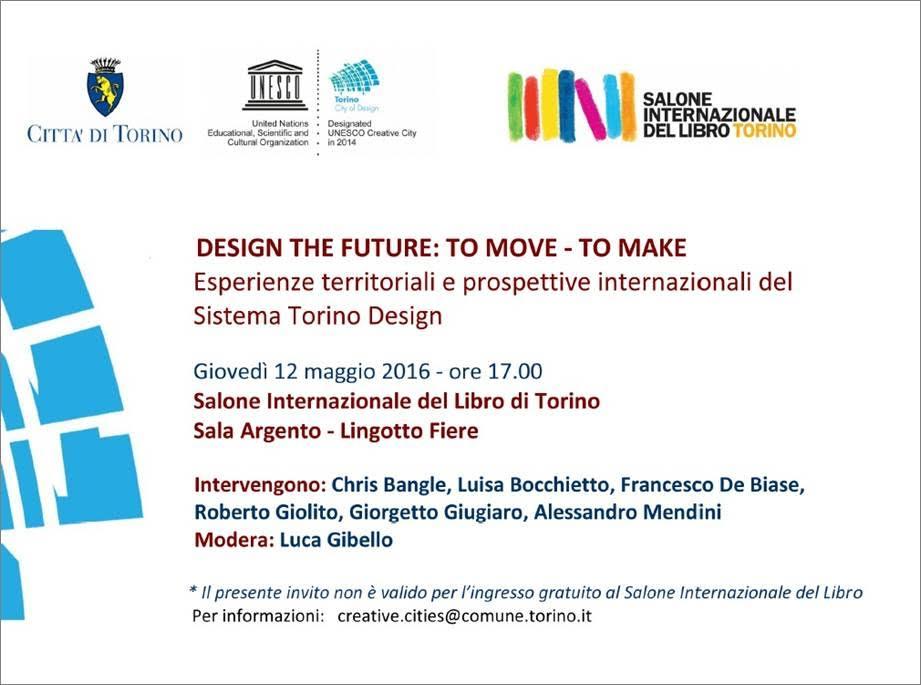 Torino il design protagonista alla fiera del libro