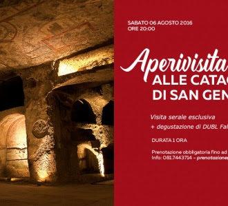 Aperivisita alle Catacombe di San Gennaro