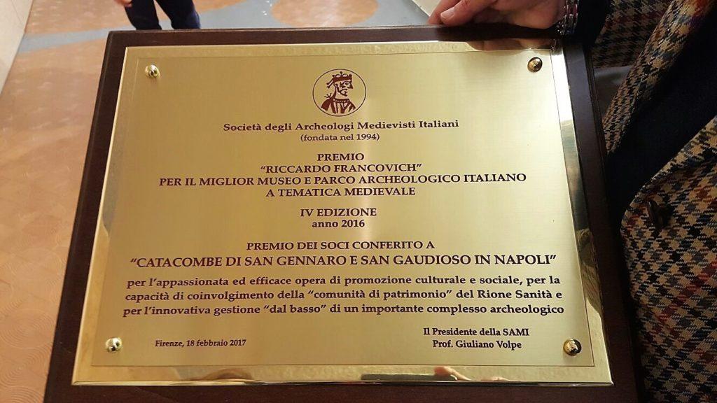 Premio Francovich al Rione Sanità