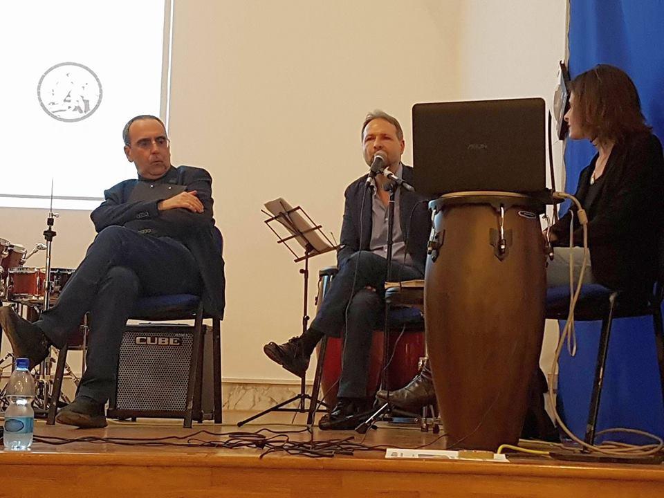Marco Restucci,aperitivo al jazz con gli studenti del Pontano