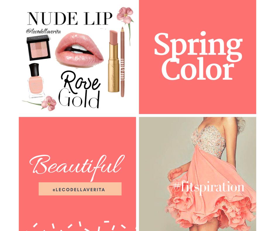 Tinte labbra:  il Peach Pink, un tocco di primavera