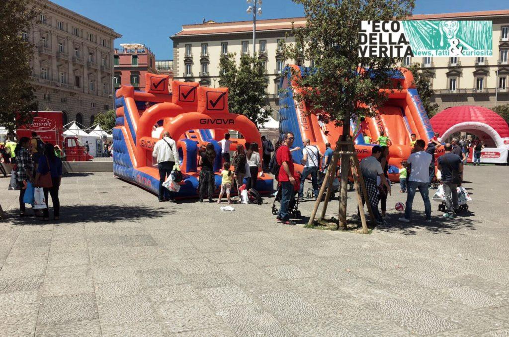 Napoli, tutti in Piazza Municipio contro la distrofia