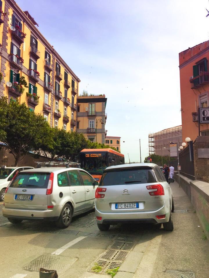 Corso Vittorio Emanuele tra lavori e dissapori dei residenti