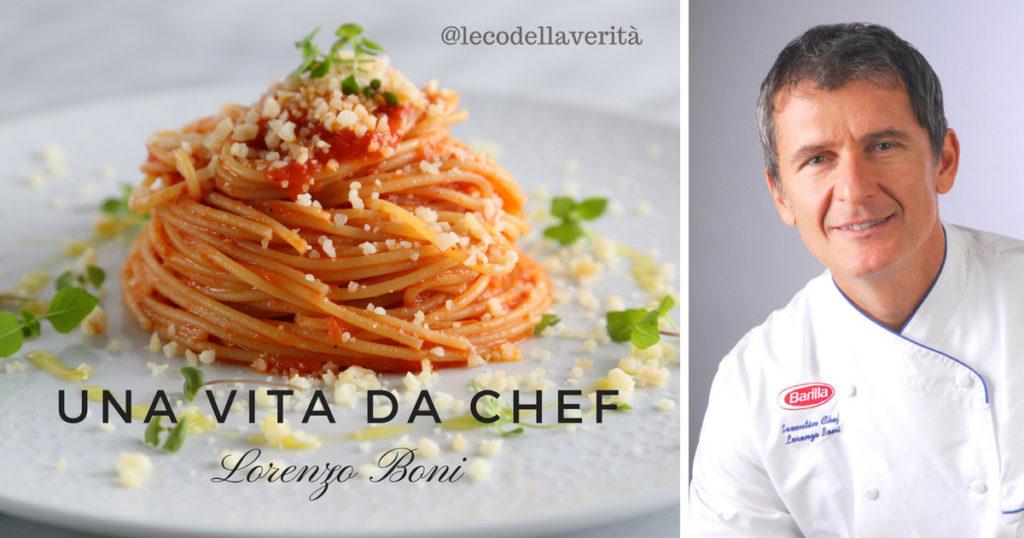 Barilla, Chef Lorenzo Boni ecco l'ingrediente della buona cucina