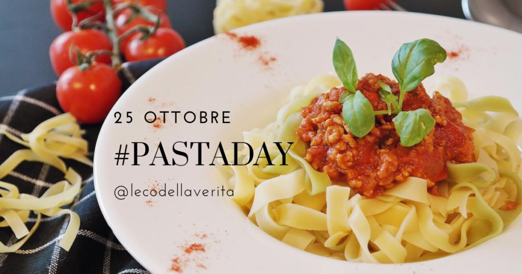 E' il Pasta Day, il mondo si ferma a tavola per un giorno