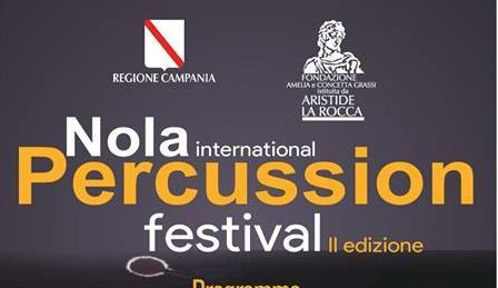 Nola International Percussion Festival dal 16 al 18 novembre 2018