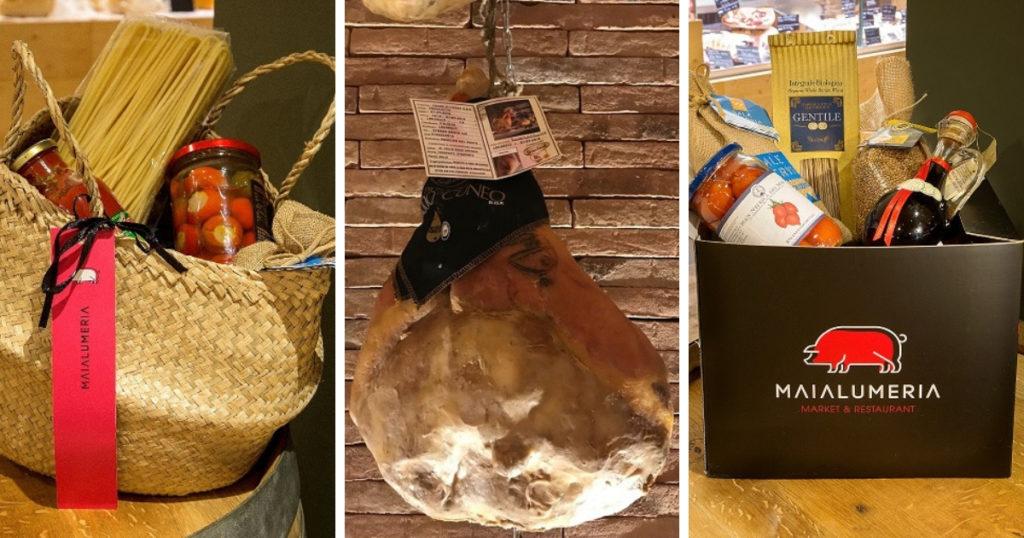 Strenne e shopping gastronomico in Maialumeria:  un Culatello Dop per Natale