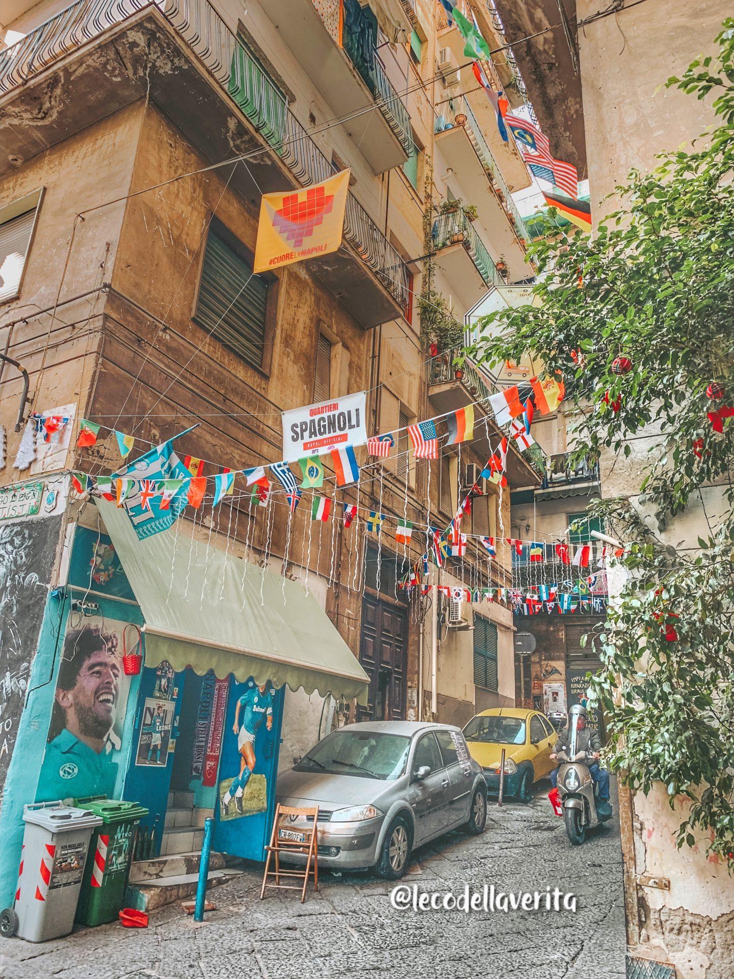 Murales Napoli Quartieri Spagnoli sempre più colorati d'arte