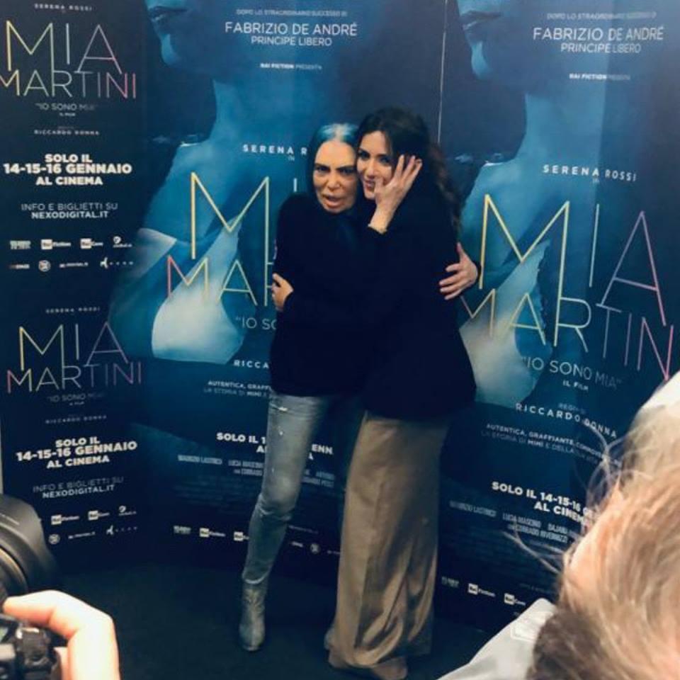 Serena Rossi e Loredana Berté insieme per Mimì