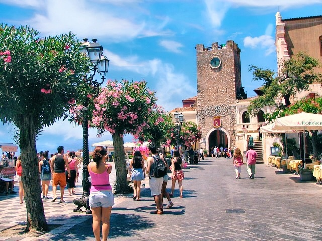taormina porta messina