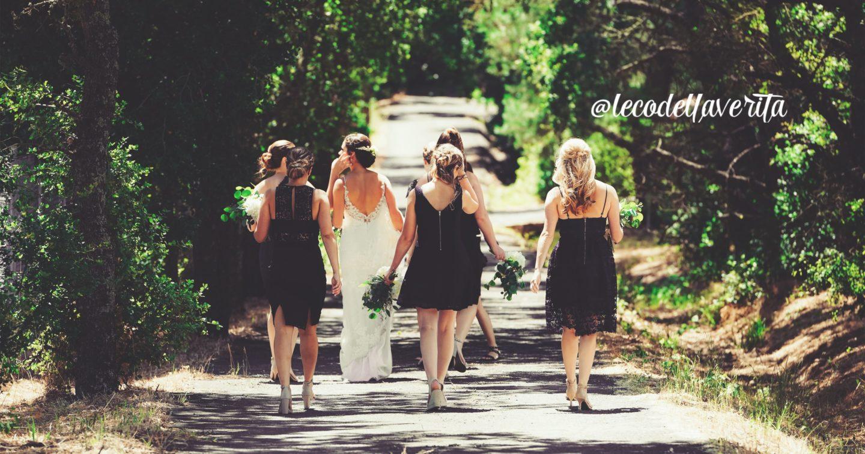 testimone della sposa