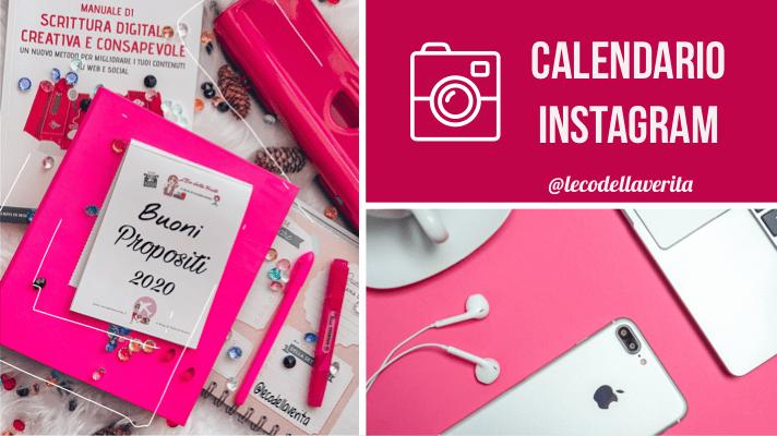 Piano editoriale per Instagram: crescita like e follower garantita