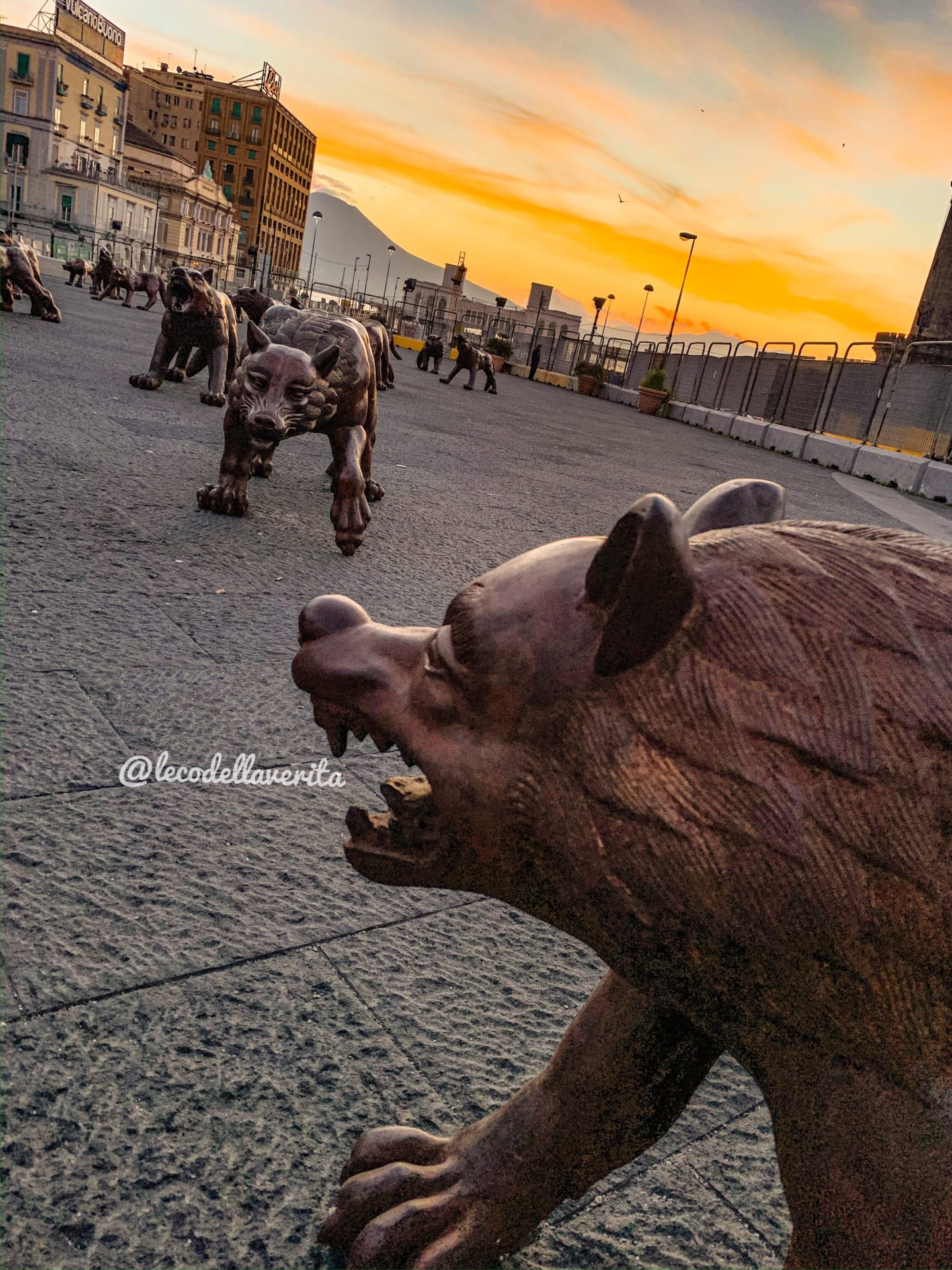 Cosa vedere a Napoli in un giorno? I cento lupi