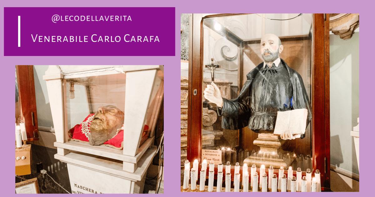 Chiese di Napoli da vedere: Carlo Carafa e la maschera di cera