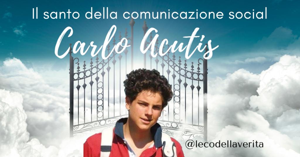 Carlo Acutis santo dei giovani al tempo dei social network