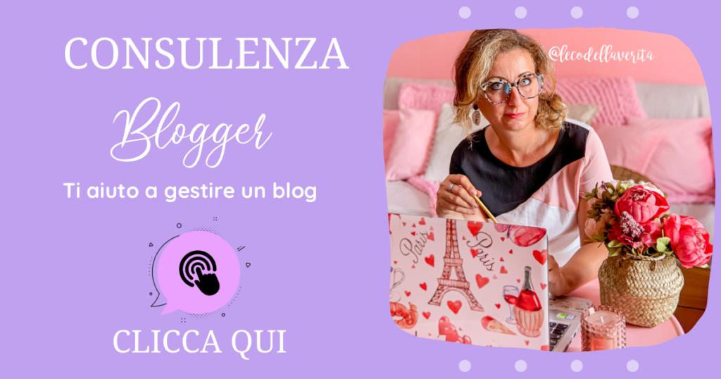 consulenza blogger