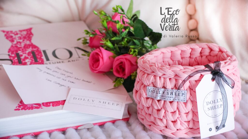 cestini di lana grossa