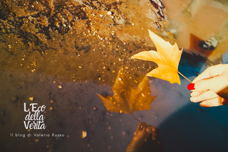 foto autunno riflesso