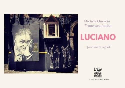 Luciano de Crescenzo murales