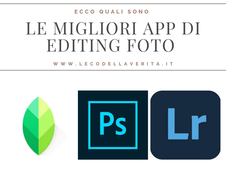 App di editing foto per Instagram