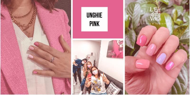 Tendenze unghie pink sfumature 2021