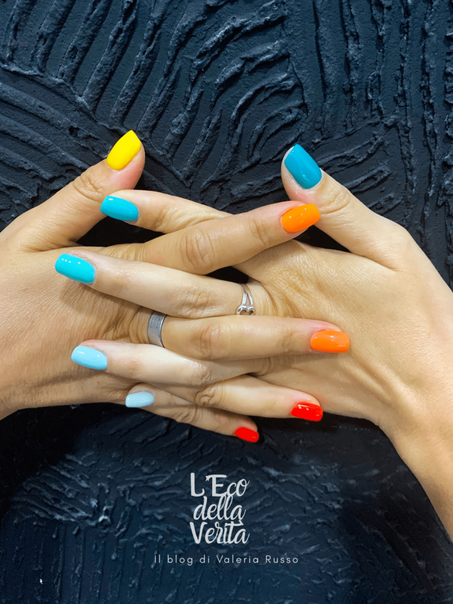 unghie colorate estate 2021