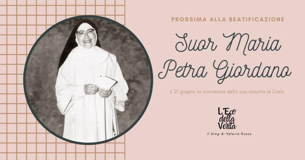 Suor Maria Petra Giordano: il 21 giugno è giorno in cui chiedere una grazia